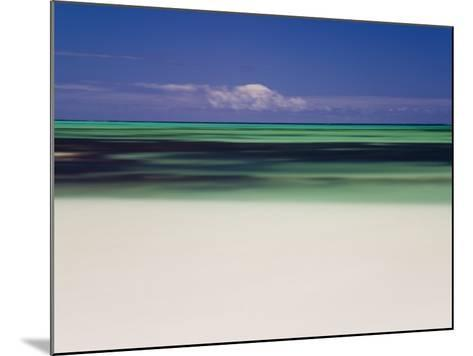 Beach and Indian Ocean, Cervantes, Western Australia, Australia-Peter Adams-Mounted Photographic Print