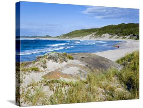 William Beach, William Bay National Park, Nr Denmark, Western Australia-Peter Adams-Stretched Canvas Print