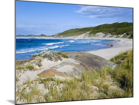 William Beach, William Bay National Park, Nr Denmark, Western Australia-Peter Adams-Mounted Photographic Print