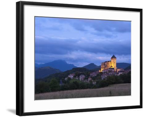 St Bertrand De Comminges, Haute-Garonne, Midi-Pyrenees, France-Doug Pearson-Framed Art Print