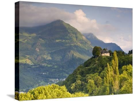 Chapel Notre-Dame-De-Pietat, St-Savin, Midi-Pyrenees, France-Doug Pearson-Stretched Canvas Print