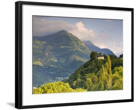 Chapel Notre-Dame-De-Pietat, St-Savin, Midi-Pyrenees, France-Doug Pearson-Framed Art Print