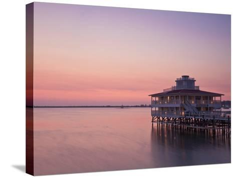 Bay Islands, Utila, Lighthouse Hotel, Honduras-Jane Sweeney-Stretched Canvas Print
