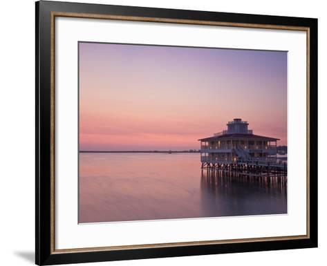 Bay Islands, Utila, Lighthouse Hotel, Honduras-Jane Sweeney-Framed Art Print