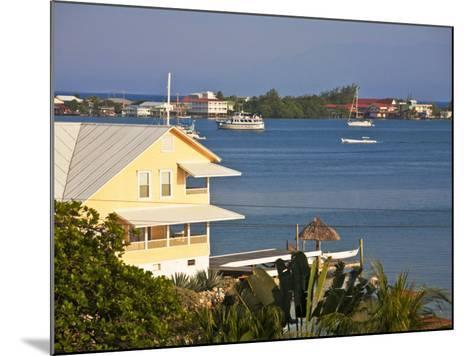 Bay Islands, Utila, View of Bay, Honduras-Jane Sweeney-Mounted Photographic Print