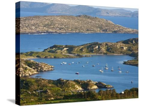 Derrynane Bay, Iveragh Peninsula, Ring of Kerry, Co, Kerry, Ireland-Doug Pearson-Stretched Canvas Print