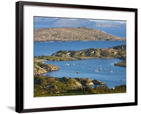 Derrynane Bay, Iveragh Peninsula, Ring of Kerry, Co, Kerry, Ireland-Doug Pearson-Framed Art Print