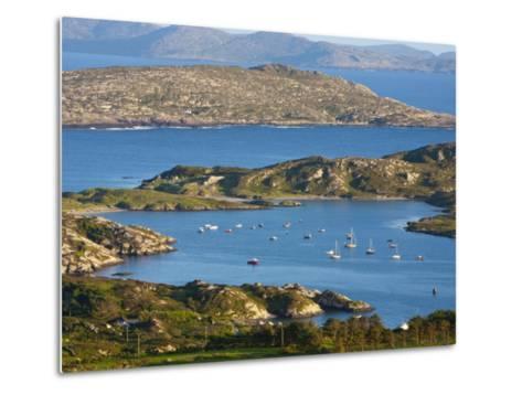 Derrynane Bay, Iveragh Peninsula, Ring of Kerry, Co, Kerry, Ireland-Doug Pearson-Metal Print