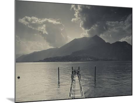 Lombardy, Lakes Region, Lake Como, Bellagio, Grand Hotel Villa Serbelloni, Lakefront, Italy-Walter Bibikow-Mounted Photographic Print