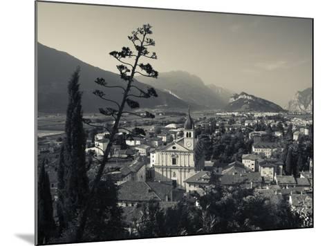 Trentino-Alto Adige, Lake District, Lake Garda, Arco, Collegiata Church, Italy-Walter Bibikow-Mounted Photographic Print