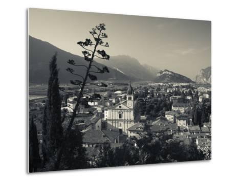 Trentino-Alto Adige, Lake District, Lake Garda, Arco, Collegiata Church, Italy-Walter Bibikow-Metal Print