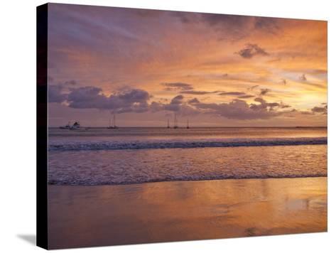 San Juan Del Sur, Sunset, Nicaragua-Jane Sweeney-Stretched Canvas Print