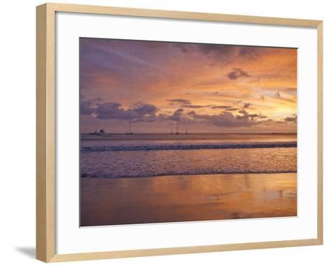 San Juan Del Sur, Sunset, Nicaragua-Jane Sweeney-Framed Art Print
