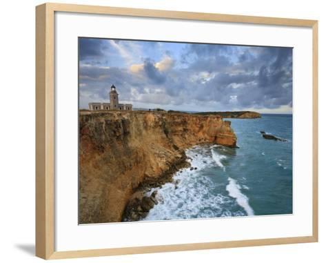 West Coast, Punta Jaguey, Faro De Cabo Rojo, Puerto Rico-Michele Falzone-Framed Art Print