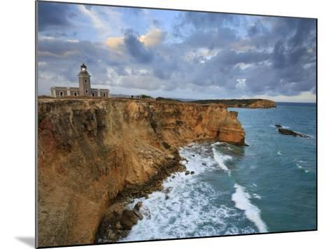 West Coast, Punta Jaguey, Faro De Cabo Rojo, Puerto Rico-Michele Falzone-Mounted Photographic Print
