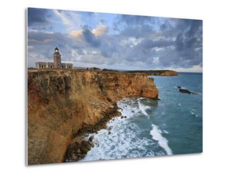 West Coast, Punta Jaguey, Faro De Cabo Rojo, Puerto Rico-Michele Falzone-Metal Print