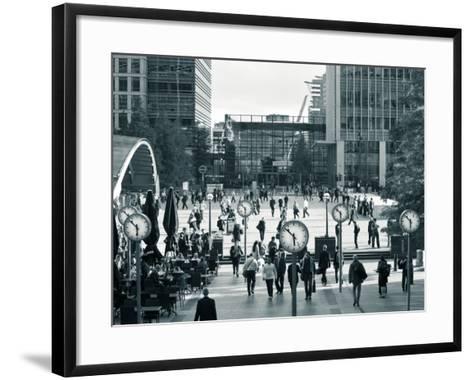 Canary Wharf, Docklands, London, England-Jon Arnold-Framed Art Print