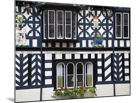 Warwickshire, Warwick, Lord Leycester Hospital, Courtyard, Timber Framed Building, England-Jane Sweeney-Mounted Photographic Print