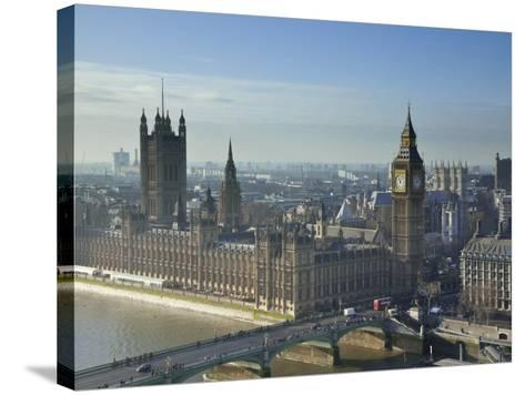 Big Ben and Houses of Parliament, London, England-Jon Arnold-Stretched Canvas Print