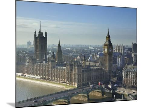 Big Ben and Houses of Parliament, London, England-Jon Arnold-Mounted Photographic Print
