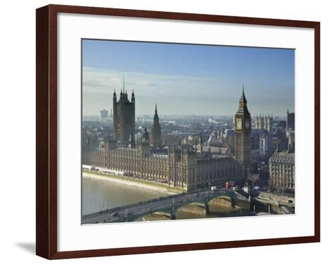 Big Ben and Houses of Parliament, London, England-Jon Arnold-Framed Art Print