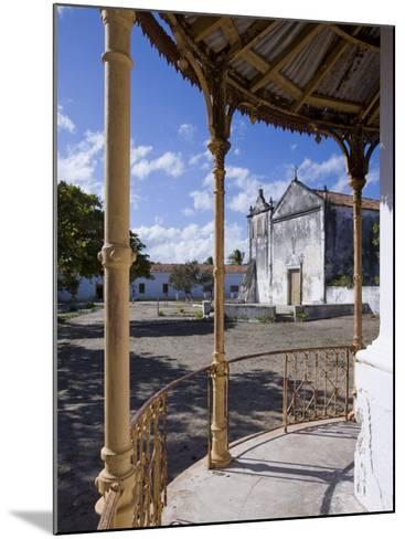 Catholic Church on the Main Square of Ibo Island, Part of the Quirimbas Archipelago, Mozambique-Julian Love-Mounted Photographic Print