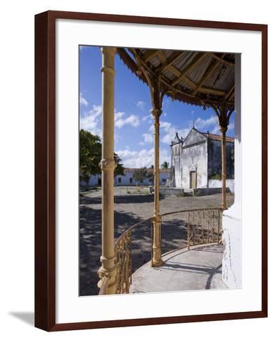 Catholic Church on the Main Square of Ibo Island, Part of the Quirimbas Archipelago, Mozambique-Julian Love-Framed Art Print