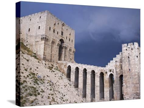 Citadel before a Storm, Aleppo-Julian Love-Stretched Canvas Print