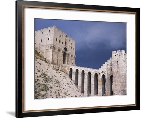 Citadel before a Storm, Aleppo-Julian Love-Framed Art Print