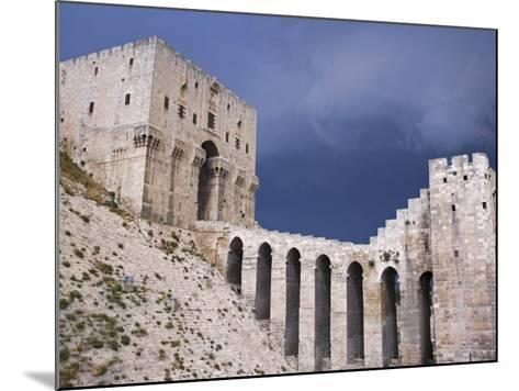 Citadel before a Storm, Aleppo-Julian Love-Mounted Photographic Print