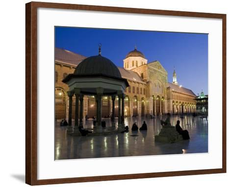 Dome of the Clocks in the Umayyad Mosque, Damascus, Syria-Julian Love-Framed Art Print