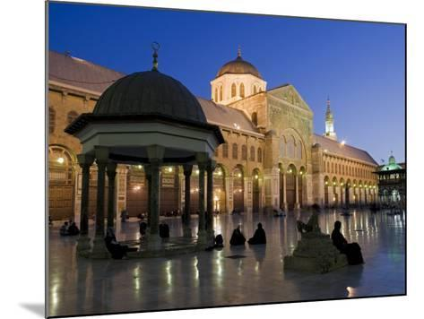 Dome of the Clocks in the Umayyad Mosque, Damascus, Syria-Julian Love-Mounted Photographic Print
