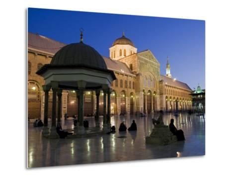 Dome of the Clocks in the Umayyad Mosque, Damascus, Syria-Julian Love-Metal Print
