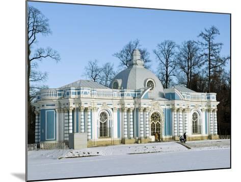 St Petersburg, Tsarskoye Selo, Catherine Palace - the Grotto, Russia-Nick Laing-Mounted Photographic Print