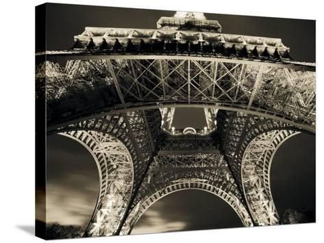 Eiffel Tower, Paris, France-Jon Arnold-Stretched Canvas Print