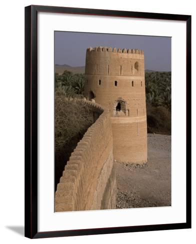 Watchtower of the Old Fort in the Village of Afi Sefalah-John Warburton-lee-Framed Art Print