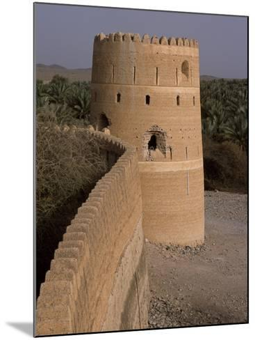 Watchtower of the Old Fort in the Village of Afi Sefalah-John Warburton-lee-Mounted Photographic Print