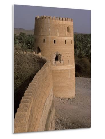 Watchtower of the Old Fort in the Village of Afi Sefalah-John Warburton-lee-Metal Print