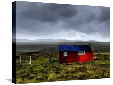 Hdr Image of a Croft, Hebrides, Scotland, UK-Nadia Isakova-Stretched Canvas Print