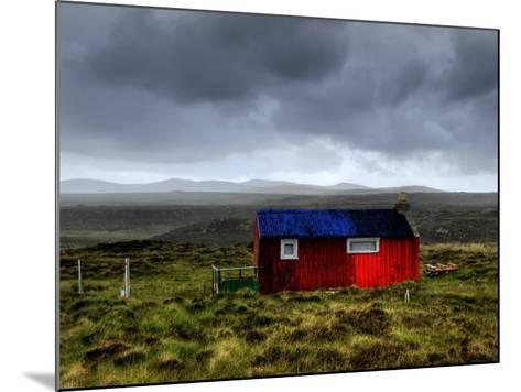 Hdr Image of a Croft, Hebrides, Scotland, UK-Nadia Isakova-Mounted Photographic Print