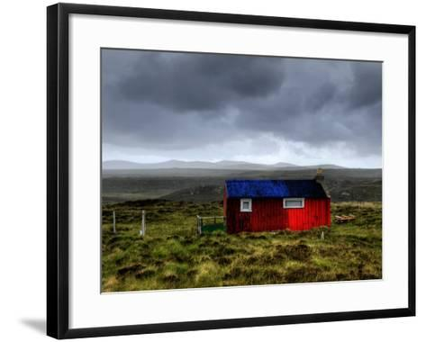 Hdr Image of a Croft, Hebrides, Scotland, UK-Nadia Isakova-Framed Art Print