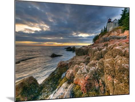 Maine, Mount Desert Island, Bas Harbor, Bas Harbor Lighthouse, USA-Alan Copson-Mounted Photographic Print