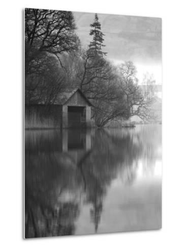 Boathouse, Cumbria, England, UK-Nadia Isakova-Metal Print