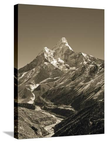 Ama Dablam, Khumbu Valley, Everst Region, Nepal-Jon Arnold-Stretched Canvas Print