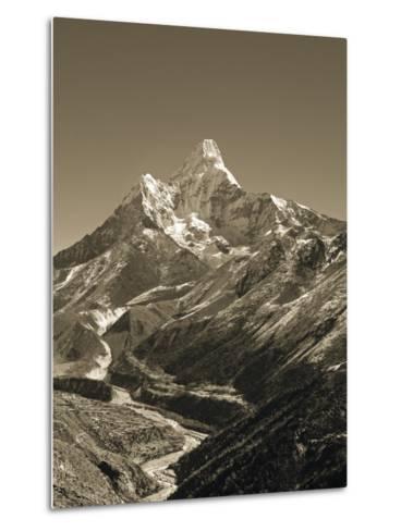 Ama Dablam, Khumbu Valley, Everst Region, Nepal-Jon Arnold-Metal Print