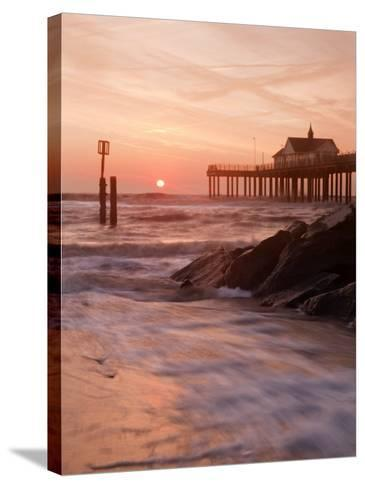 Southwold Pier at Dawn, Suffolk, UK-Nadia Isakova-Stretched Canvas Print