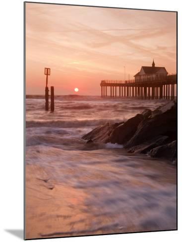 Southwold Pier at Dawn, Suffolk, UK-Nadia Isakova-Mounted Photographic Print