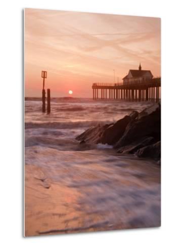 Southwold Pier at Dawn, Suffolk, UK-Nadia Isakova-Metal Print