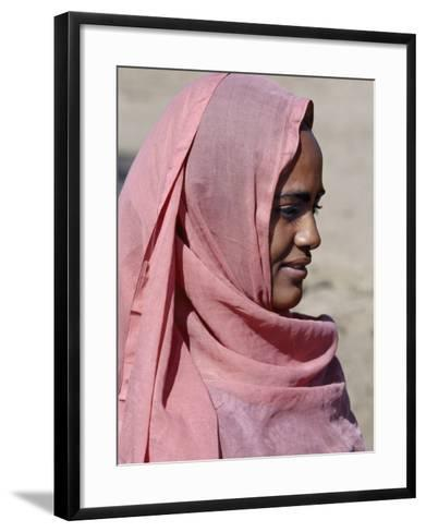 Nubian Women Wear Bright Dresses and Headscarves Even Though They are Muslims-Nigel Pavitt-Framed Art Print