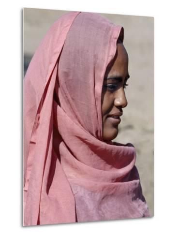 Nubian Women Wear Bright Dresses and Headscarves Even Though They are Muslims-Nigel Pavitt-Metal Print